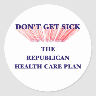 Don't Get Sick Stickers
