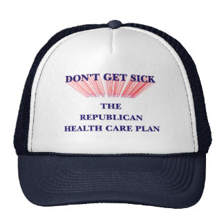 Don't Get Sick Trucker Hats