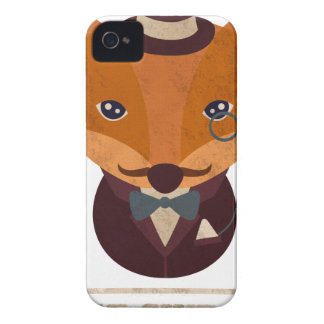 Dont Give A Fox Comic Animal iPhone 4 Cases