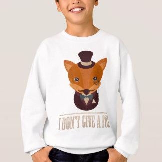 Dont Give A Fox Comic Animal Sweatshirt