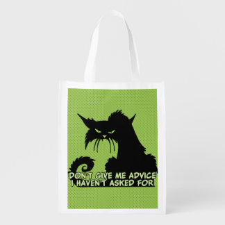 Don't Give Me Advice Angry Cat Saying