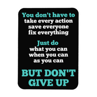 Don't Give Up Magnet