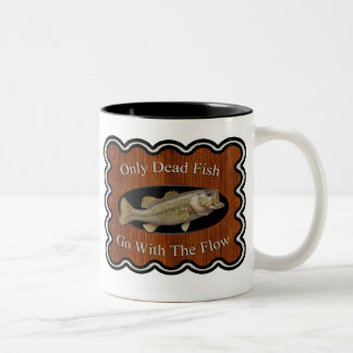 Don't Go With the Flow Two-Tone Mug