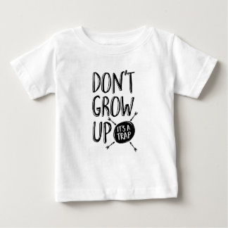 Dont grow up, it's a trap kids T-shirt