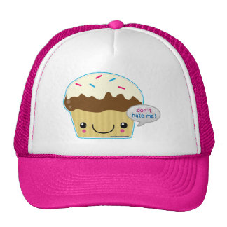 Don't Hate Me Cupcake Mesh Hat