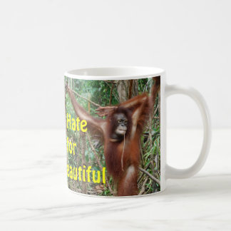 Don't Hate Me for Being so Beautiful Redhead Coffee Mug