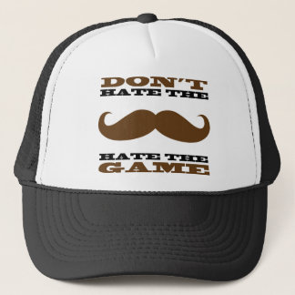 Don't Hate the Mustache Hat