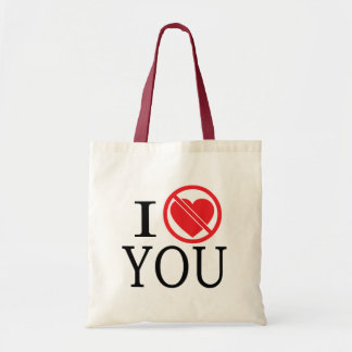 Don't Heart You Canvas Bag