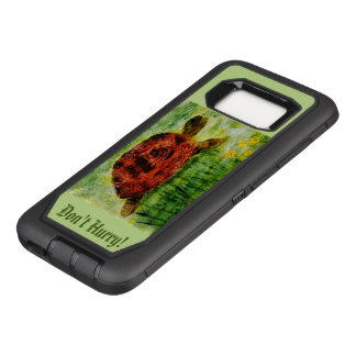 Don't Hurry! Tortoise Animal Art OtterBox Defender Samsung Galaxy S8 Case