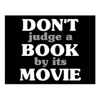 Don't Judge a Book by its Movie Postcard