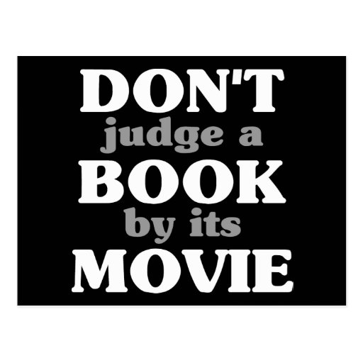 Don't Judge a Book by its Movie Postcards