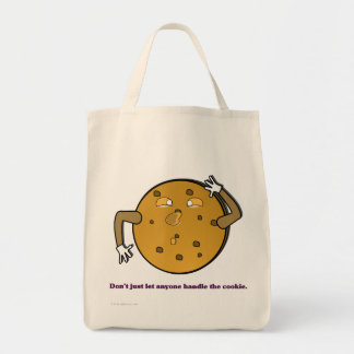 Dont just let the TSA handle your cookies Grocery Tote Bag