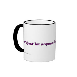 Dont just let the TSA handle your cookies Ringer Mug