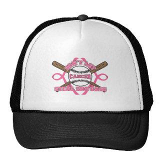 Don't Let Cancer Steal 2nd Base - Breast Cancer Cap
