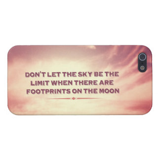 Don't let the sky be the limit… case for the iPhone 5