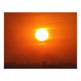 Don't Let The SunRise 11 Cm X 14 Cm Invitation Card
