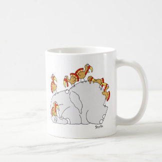 Don't Let the Turkeys Get You Down Coffee Mug