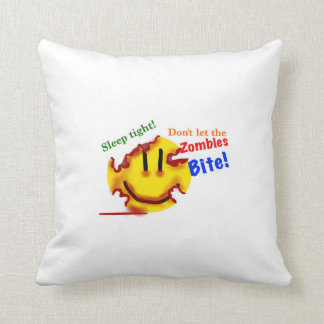 Don't let the zombies bite! cushion