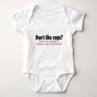 Don't like cops? baby bodysuit