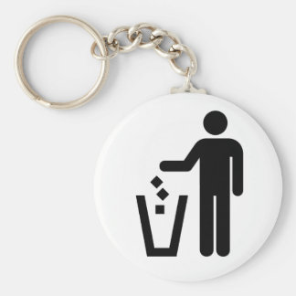 Don't Litter Keychain