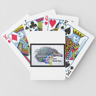 Don't Look Back Bicycle Playing Cards
