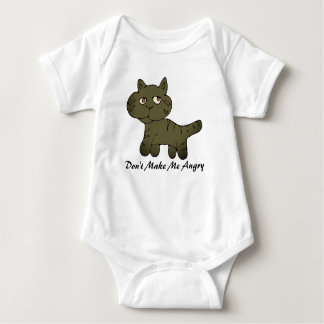 Don't make me angry baby bodysuit