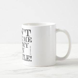 Dont Make Me Get My Tin Whistle Mugs