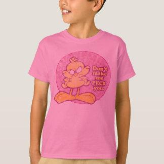 Don't Make Me Peck You Kid's Shirt