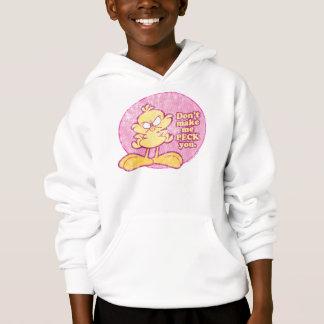 Don't Make Me Peck You Kid's Sweatshirt