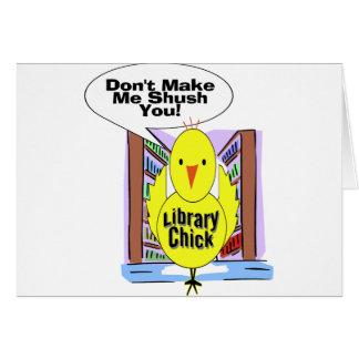 Don't Me Me Shush You Greeting Card