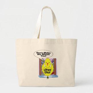 Don't Me Me Shush You Large Tote Bag