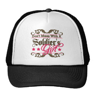 Don't Mess with a Soldier's Girl Cap