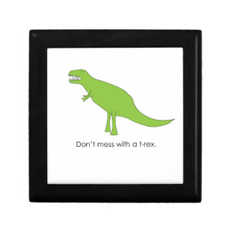 Don't Mess With A T-rex Funny Dino Fan Gift Gift Box