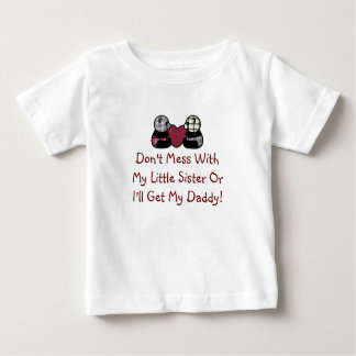 Don't Mess With Little Sister Shirt