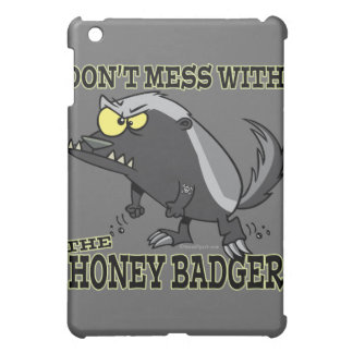 DONT MESS WITH THE HONEY BADGER COVER FOR THE iPad MINI