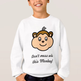 Don't mess with this Monkey Kid's Top