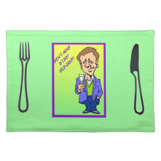 Don't mind if I do, old chap! Placemats