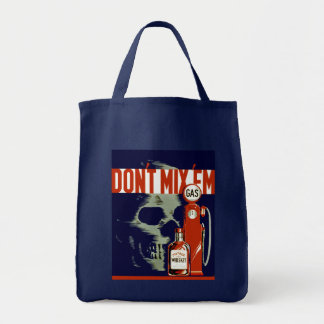 Don't Mix Em Grocery Tote Bag