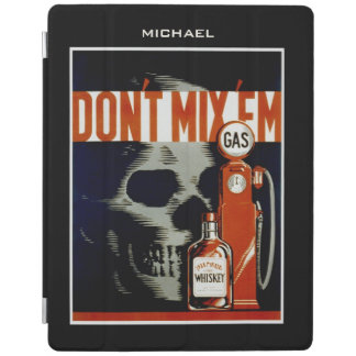 """""""Don't Mix Them"""" vintage art custom device covers iPad Cover"""