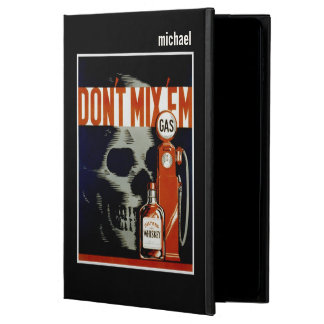"""Don't Mix Them"" vintage art custom monogram cases"