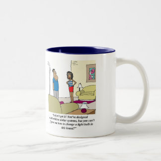 Don't neglect to apply your Business Analysis skil Two-Tone Coffee Mug