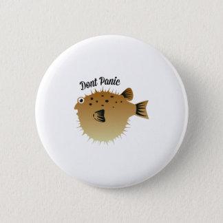 Dont Panic 6 Cm Round Badge