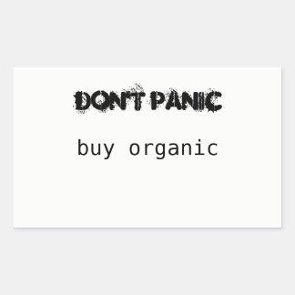 Don't Panic Buy Organic sticker