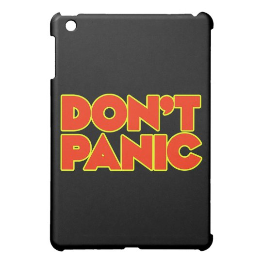 Don't Panic iPad Mini Covers