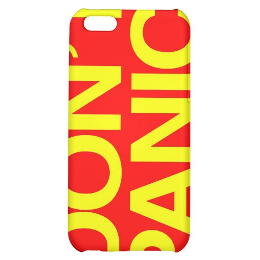 Don't Panic iPhone Case Cover For iPhone 5C