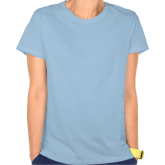 Don't Panic Ladies Spaghetti Top (Fitted) Shirt