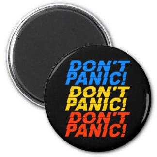 Don't Panic! magnet