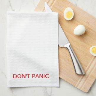 DON'T PANIC TOWEL