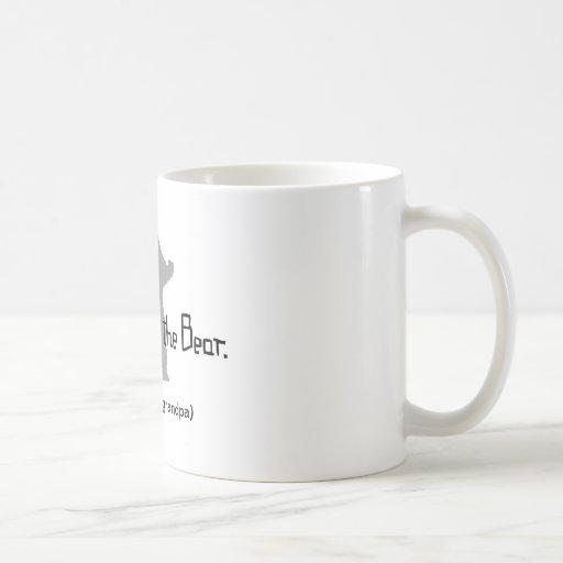 Don't Poke the BEAR Basic White Mug