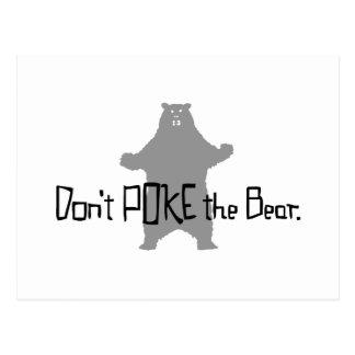 Don't Poke the BEAR Postcards